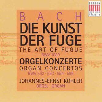 Bach Orgelkonzerte Köhler