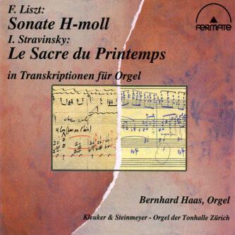 Liszt Stravinsky