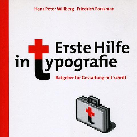 Erste Hilfe Typographie