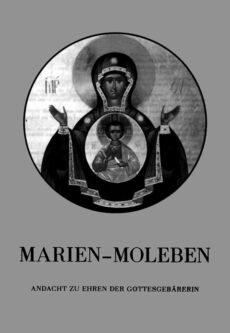 "Buchcover ""Marien-Moleben"""