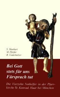 """Buchcover """"Vierzehn Nothelfer"""""""