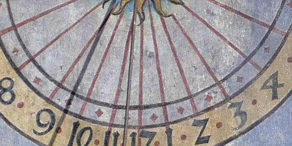 Kloster Blaubeuren Sonnenuhr